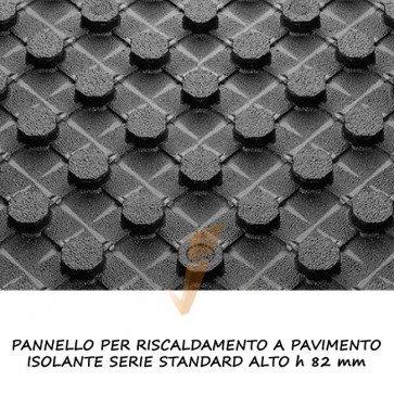 Pannello isolante serie standard alto h 82 mm