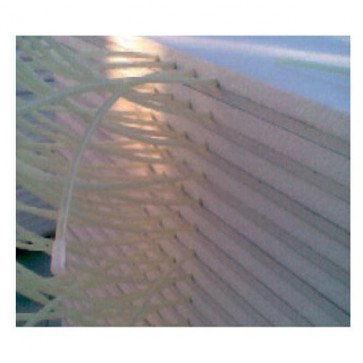 Pannello radiante 600x1200 mm in cartongesso per riscaldamento a parete ed a soffitto
