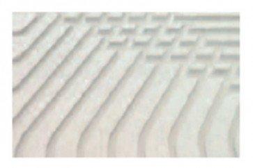 Pannello radiante 600x1200 mm h 22,5 mm speciale in fibrogesso per sistemi a secco