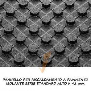 Pannello isolante serie standard alto h 42 mm