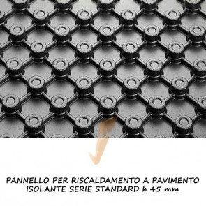 Pannello isolante serie standard h 45 mm