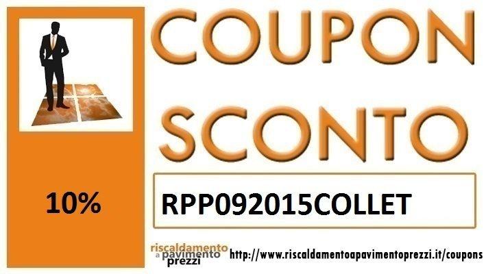 COUPON SCONTO IDRAULICA