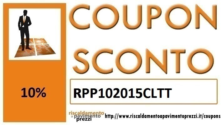 COUPON SCONTO COLLETTORI