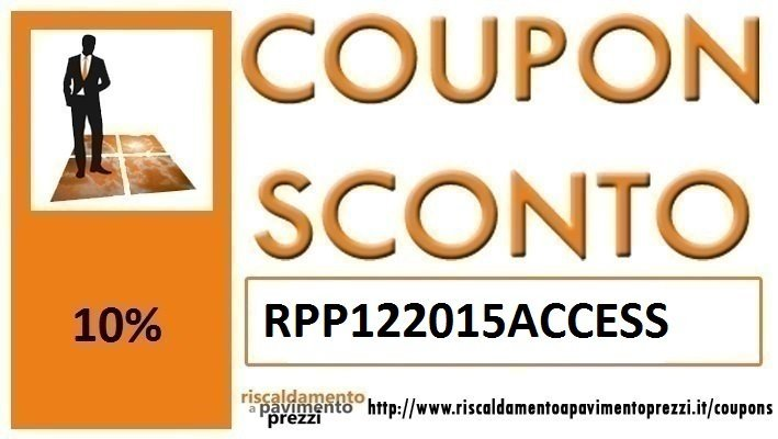 COUPON SCONTO ACCESSORI