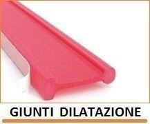 Giunti di dilatazione per riscaldamento a pavimento