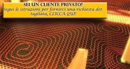 Riscaldamento a pavimento per Privati